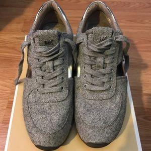 Michael Kors Allie Trainer Flannel sneakers